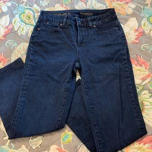 Talbots Heritage ankle jeans. 2P
